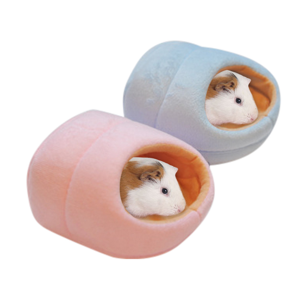 Lovely Warm Small Animal Bed Mat Hamster Chinchilla Rabbit Nest Pet Supplies New Hamster Rabbit Guinea Pig Warm House