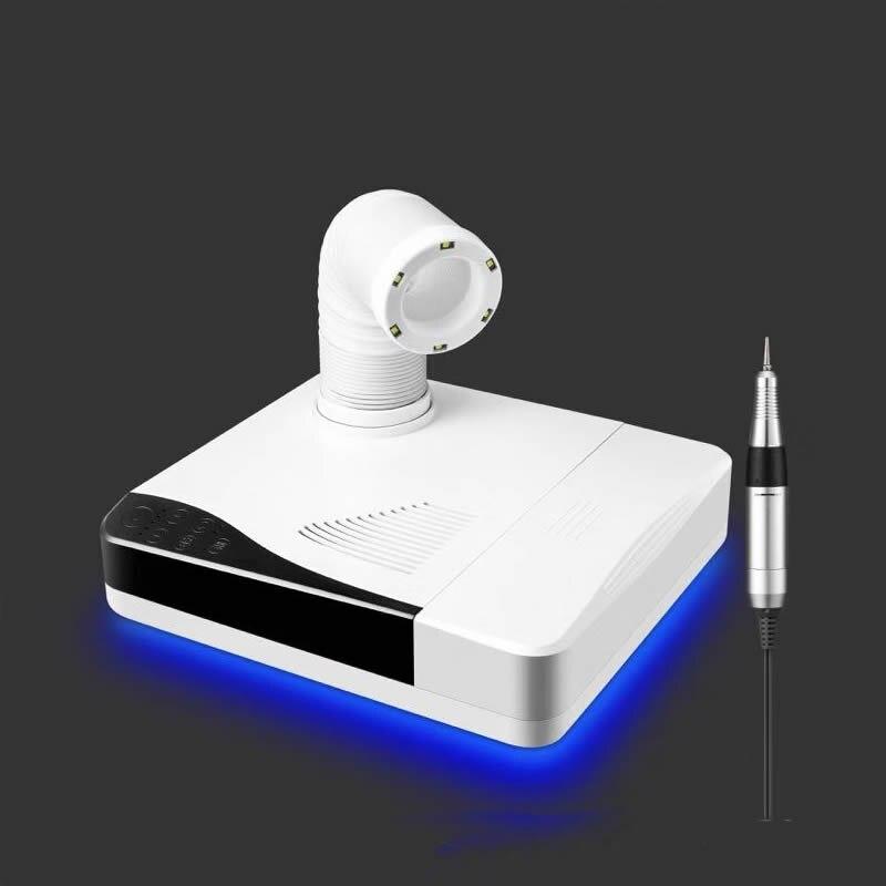 오크 모스 2in1 살롱 전문가 작업대 60 w 손톱 먼지 수집가 먼지 지우기 6pcs led 램프 35000rpm 네일 드릴-에서전기 매니큐어 드릴 & 부대용품부터 미용 & 건강 의  그룹 1