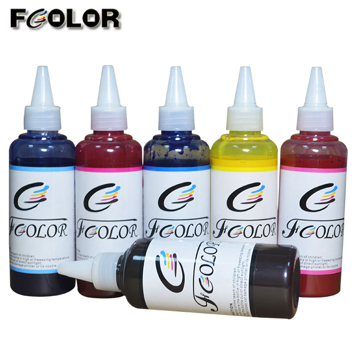 6 Color high premium <font><b>ink</b></font> for <font><b>Epson</b></font> R265 <font><b>R270</b></font> R290 R390 Pigment <font><b>Ink</b></font> image