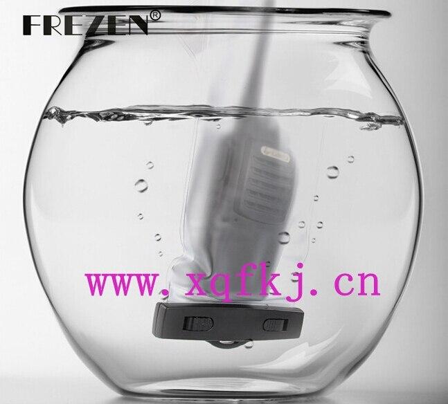 imágenes para Dos Vías de Radio A Prueba de agua IPX7 Bolsa Protectora Transparente Caja de Polvo de Alta temperatura resistente Para Walkie Talkie