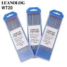 лучшая цена 10 pcs Red Color Code 150MM Thorium Tungsten Electrode Head Tungsten Rod Needle/Wire for TIG WSME SUPER Welding Machine