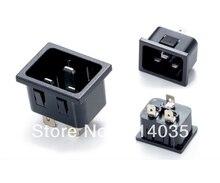 Ss-3a-1 10 шт./лот AC Мощность разъем IEC320 C20 промышленные розетки Панель монтажа Мощность Многофункциональный Электрическая розетка Мощность