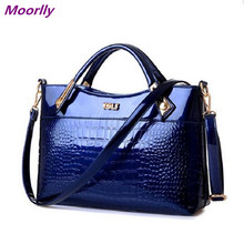 Moorlly New tide Women Handbag patent leather Crossbody Bags Tote Fashion Women Messenger Bags Clutch Shoulder
