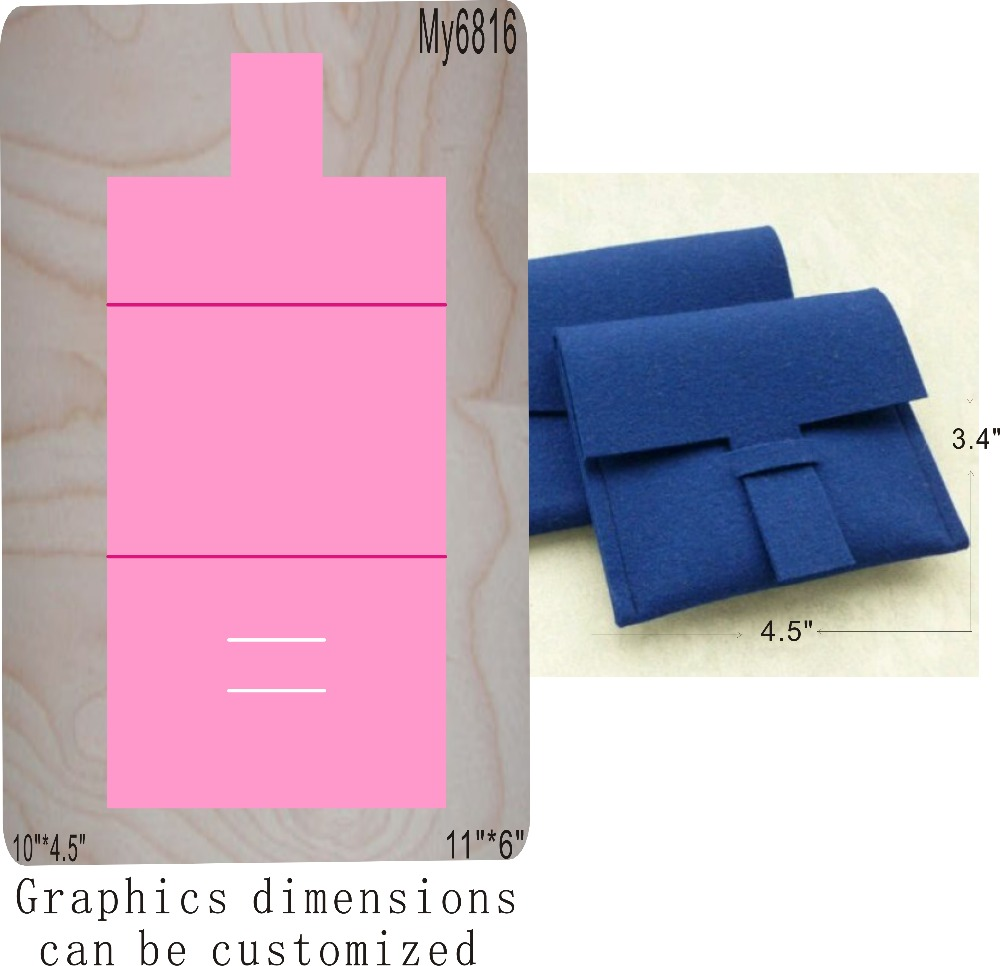 Blue purse muyu cutting die new wooden mould cutting dies for scrapbooking Thickness 15 8mm