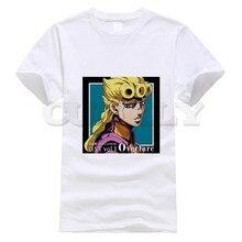 2019 New T-shirt Short Sleeve Jojo Bizarre Adventure Thsirt Cool Japan Anime Cartoon Summer Dress Men Tee Pop Boy Funny T Shirt