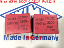 2019 hot sale 10pcs/20pcs Germany WIMA MKP10 2500V 0.022UF 223 2500V 22nf P: 22.5mm Audio capacitor free shipping free shipping 10pcs at 223