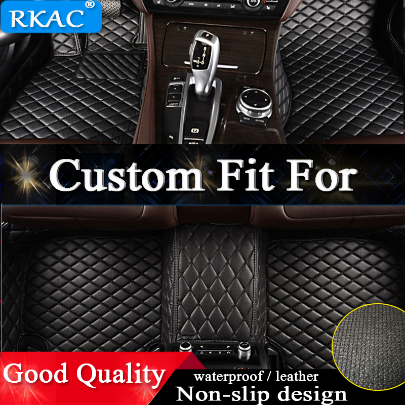 Custom fit car floor mats for Infiniti FX FX35 FX30/45/37/50 QX70 EX25/35 QX50 G25/35 Q50 M25/35 Q70 QX56 QX80 ESQ JX 35 liners(China)