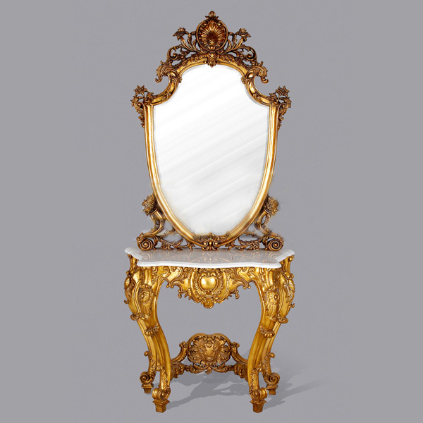 Online get cheap console table mirror for Cheap antique style mirrors