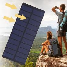 Cewaal 5V 4W Universal Mini Solar panels System DIY For Battery Cell Phone Chargers Portable Solar Cell Outdoors travel