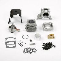 20151/5 ROVAN 4 болта 36cc масштаб газовый двигатель комплект Fit 1/5 Hpi км колесах Baja 5b 36CC двигатель обновлен запчасти Новый