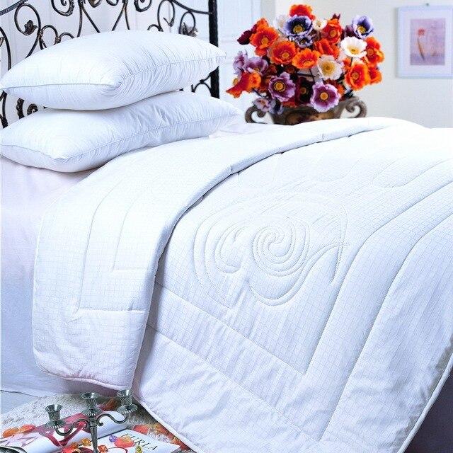Queen Comforter Duvet Insert White Quilted With Corner Tabs Hypoallergenic Box Sched Down Alternative