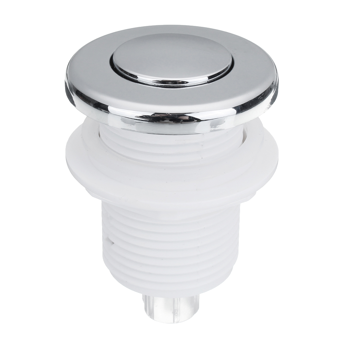 1PCS 32mm On Off Push Air Switch Button For Bathtub Spa Waste Garbage Disposal Whirlpool Pneumatic Switch