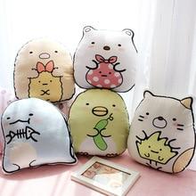 35*38cm Plush Pillow Japan Corner Bio Figure Print Car Cushion Home Decoration Toys for baby gifts