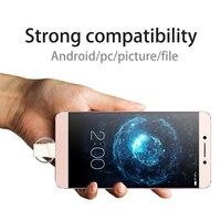 5 шт. CU66 Тип C USB 3,0 OTG 32 г Flash Drive Мини Портативный Pendrive смартфон накопитель двойной назначения и диск для ПК телефон 16 ГБ