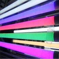Toika 30pcs Lot 4ft 1 2m 24w Led T8 Integrated Led Tube Lamp Light Red Green