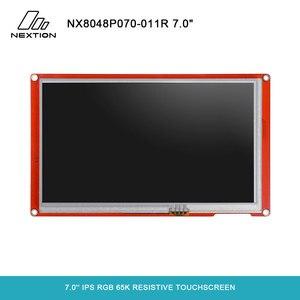 Image 1 - NEXTION 7,0 Nextion интеллектуальная серия NX8048P070 011R HMI IPS RGB 65K резистивный сенсорный дисплей без корпуса