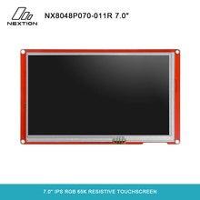 NEXTION 7.0 Nextion inteligentna seria NX8048P070 011R HMI IPS RGB 65K rezystancyjny ekran dotykowy moduł wyświetlacza bez obudowy