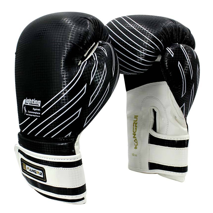 Shiv Naresh Teens Boxing Gloves 12oz: 12oz Boxing Gloves Adult PU Leather Muay Thai Twins MMA
