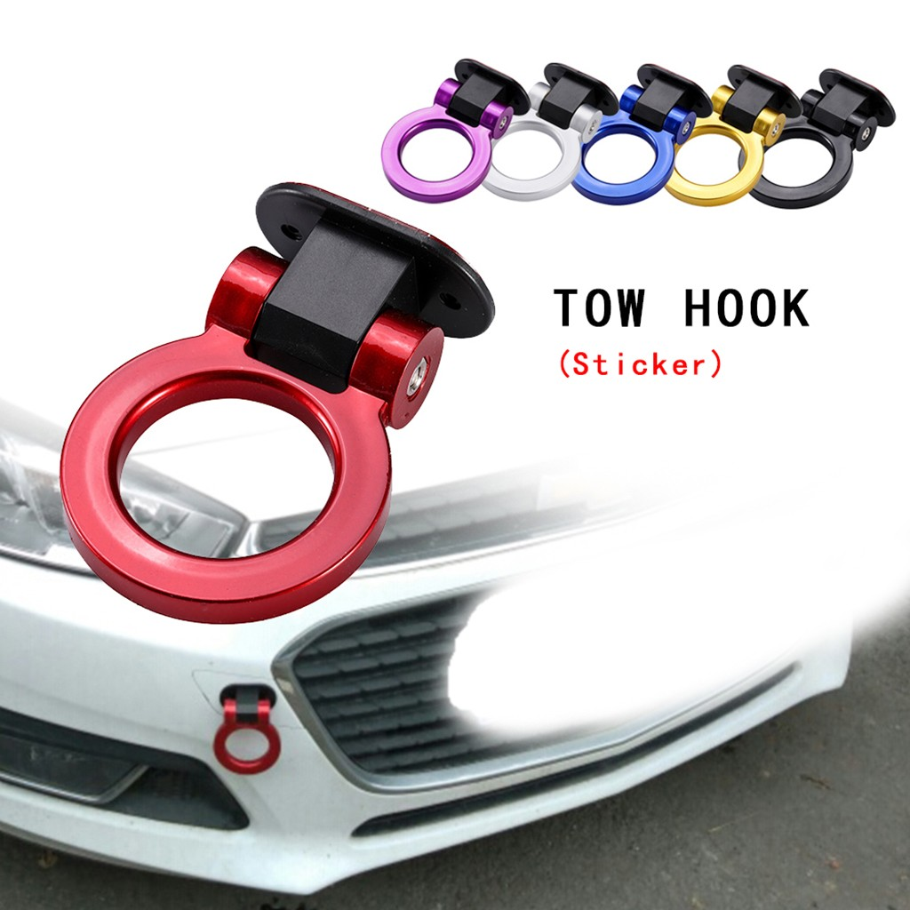 Car Exterior Modification  Hook Stick Type Car Affix  Trailer Ring  For toyota For honda For mersedes ml w212 w210 w205 New-in Car Stickers from Automobiles & Motorcycles