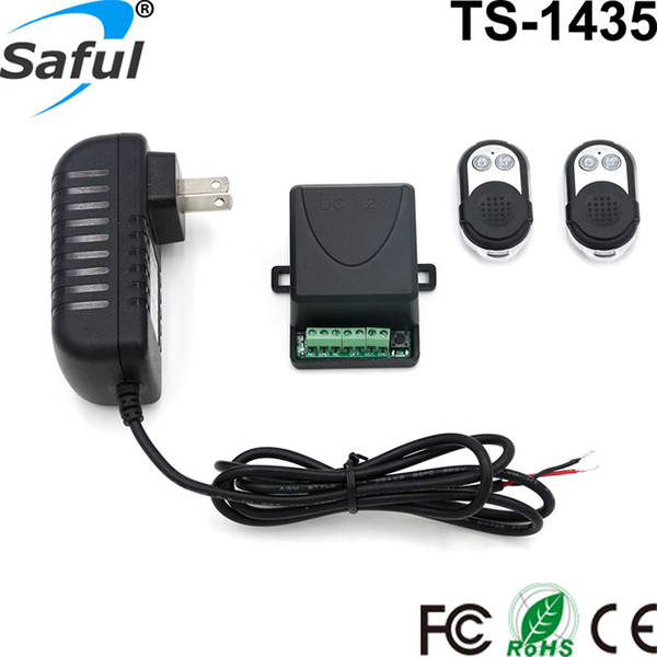 12V Electric Lock remote control+remote unlock Door Access Switch Electric Control Lock Gateway Access Control System