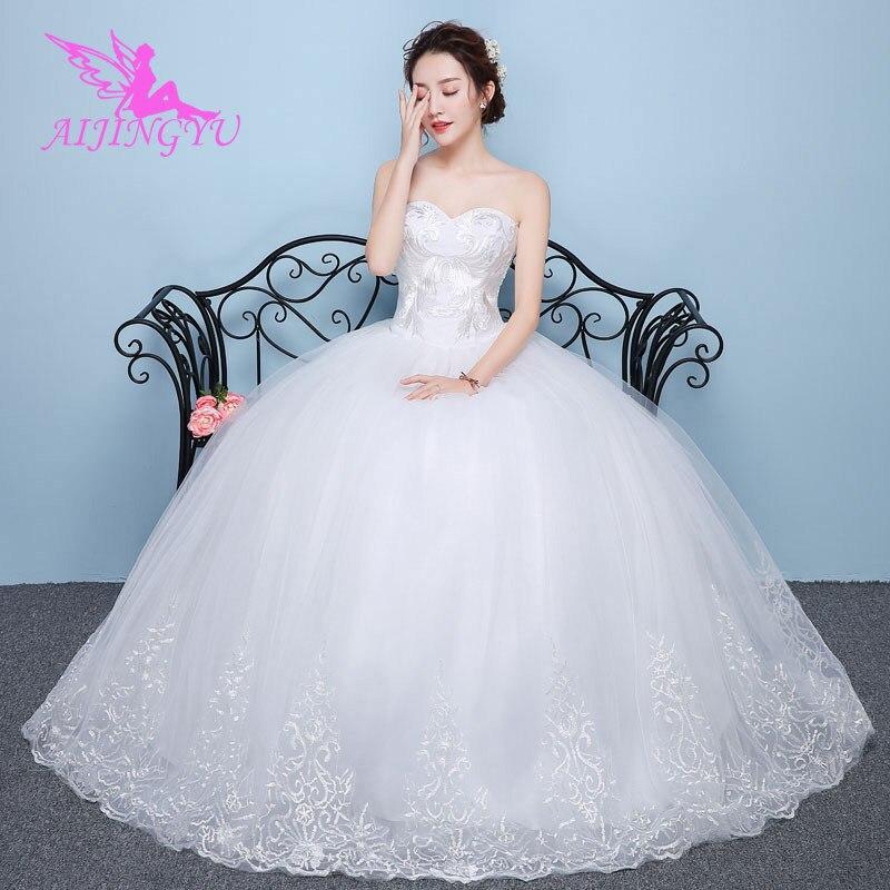 AIJINGYU wedding dresses bridal long dress party cheap plus size WU188