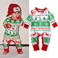 2016 XMAS Newborn Baby Boys Girls Clothes Christmas Deer Romper Jumpsuit Outfits Clothing Costume 0-24M