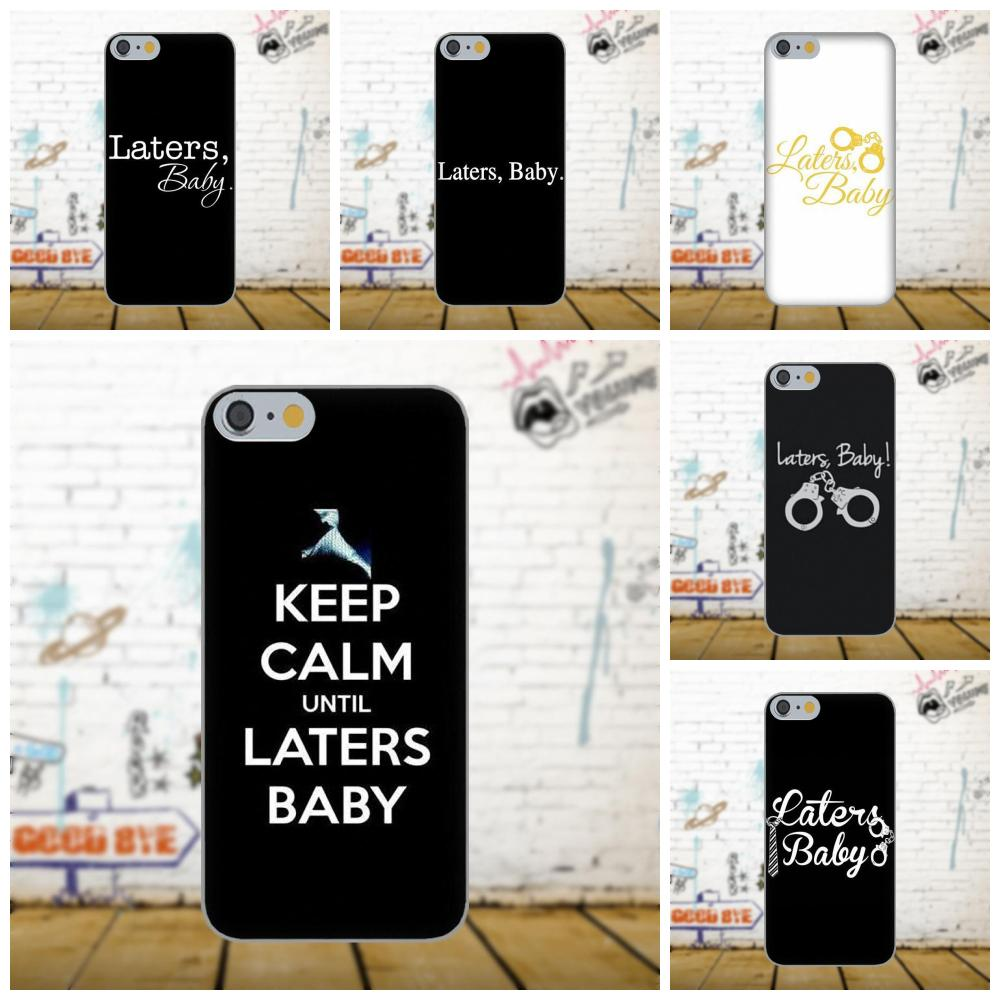 Laters Baby - Fifty Shades Of Grey On Sale Luxury For Xiaomi Redmi 5 4A 3 3S Pro Mi4 Mi4i Mi5 Mi5S Mi Max Mix 2 Note 3 4 Plus