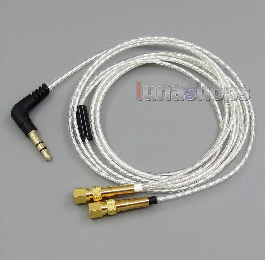 Léger Plaqué Argent OCC Câble Pour HiFiMan HE400 HE5 HE6 HE300 HE560 HE4 HE500 HE600 Casque LN005065