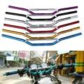 """Universal manillar de la motocicleta de aluminio 7/8 """"22mm manillar para honda suzuki yamaha kawasaki ktm motocross moto"""