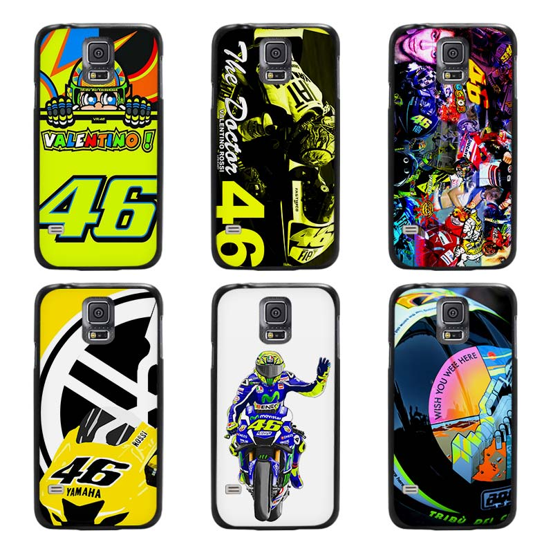 valentino rossi vr46 black case cover cover scrub shell. Black Bedroom Furniture Sets. Home Design Ideas