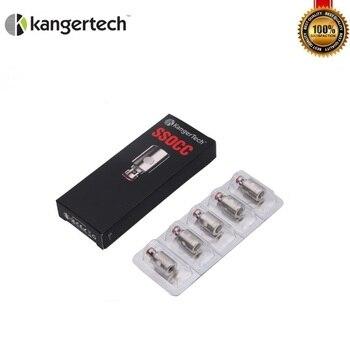 KangerTech SSOCC – bobines de coton organique en acier inoxydable, 10 pièces/lot, pour la série sous-réservoir Toptank Nebox NI 200, 0,15 ohm, ohm, occ