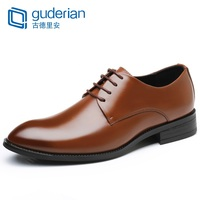 GUDERIAN Plus Size 38 48 Men Shoes Italian Business Formal Shoe Man Leather Lace Up Classic Men Shoes Zapatos De Vestir