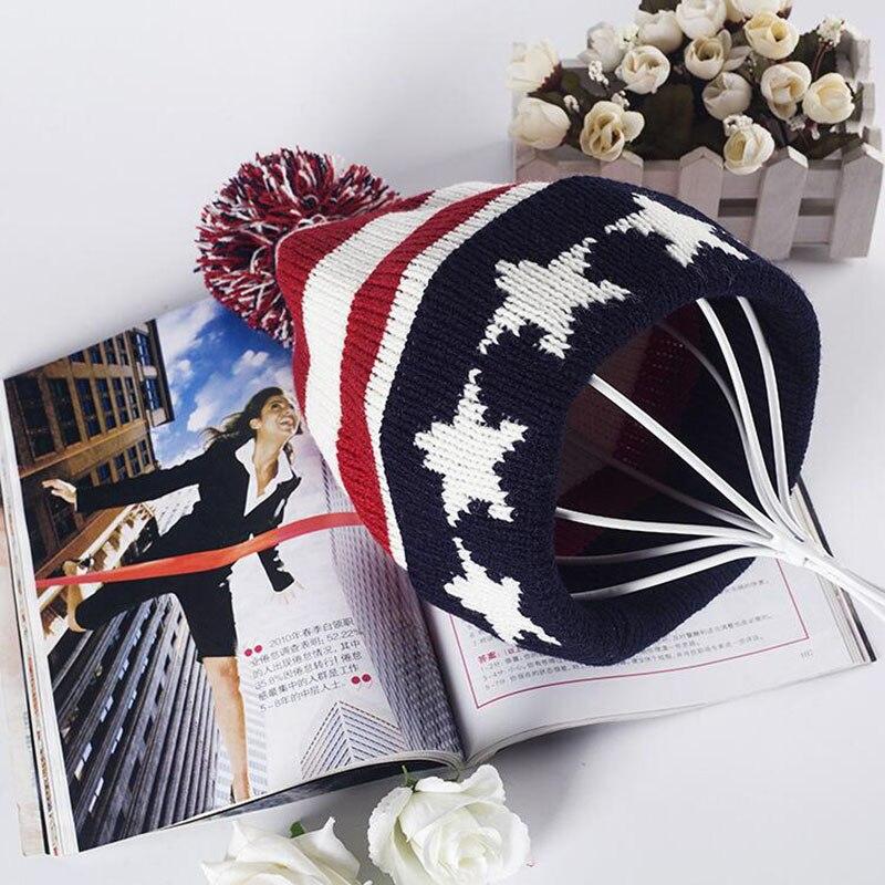 Bonnet chaud tricoté en laine