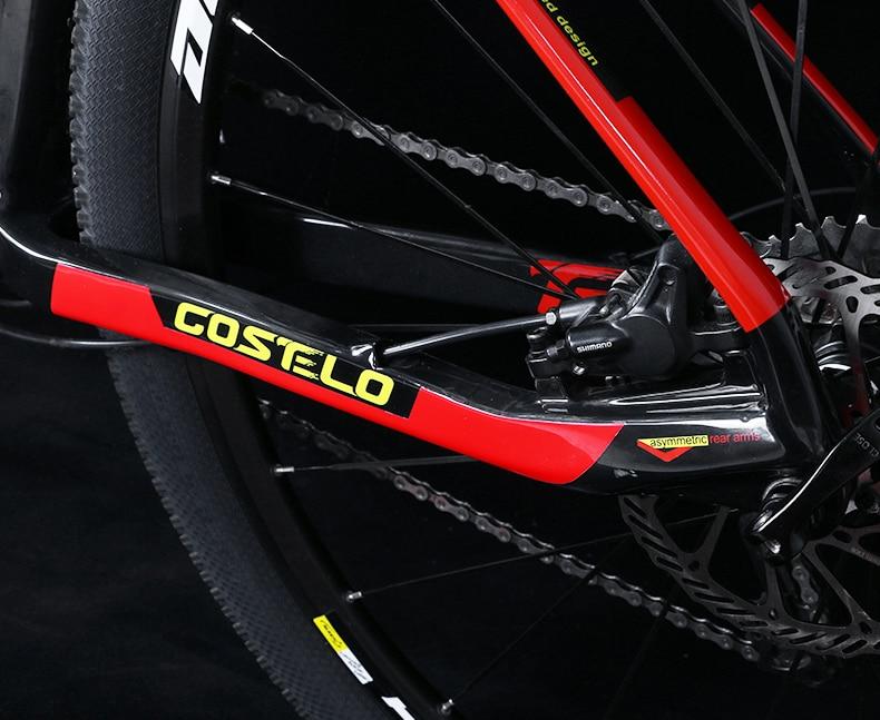 HTB1Rs1.XhHI8KJjy1zbq6yxdpXaC - 27.5/29inch carbon fiber mountain bicycle Pneumatic shock 30/ 33 velocity carbon fiber body light-weight Cross nation weapon MTB