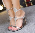 Summer women's Lace Up high heels Pointed Toe Bandage Stiletto sandals celebrity ladies shoes Pumps Gold Sliver Black 35-40