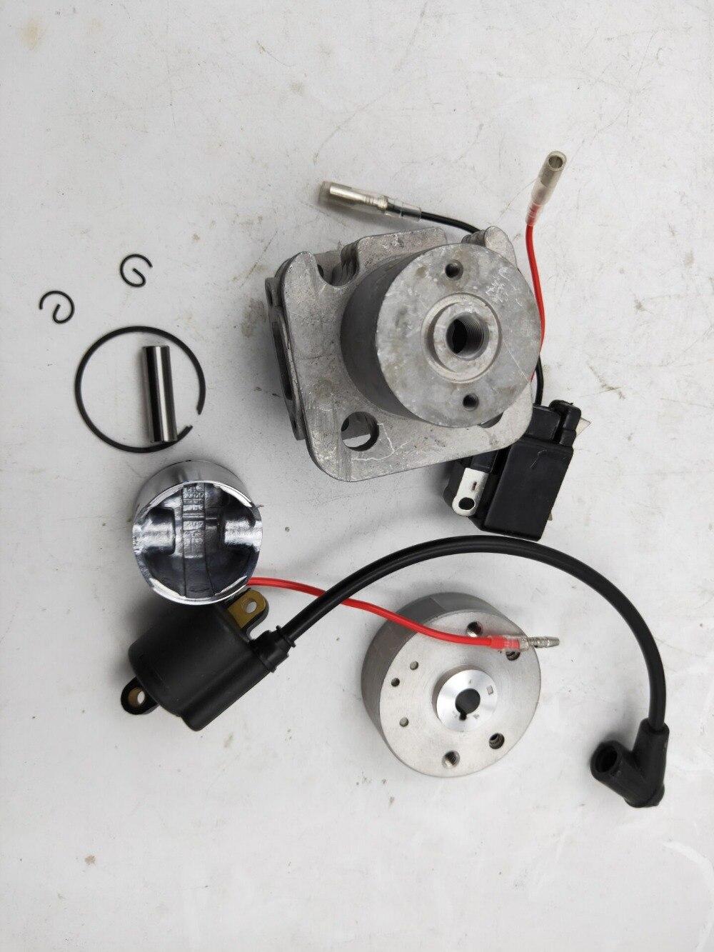Kit de cilindro de 4 orificios 29cc y kit de sistema de encendido para RCMK HPI CY ZENOAH G290 motores rc piezas de barco-in Partes y accesorios from Juguetes y pasatiempos    1