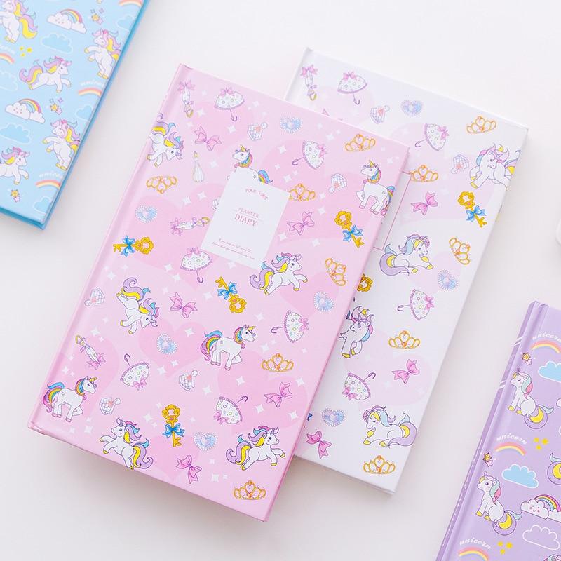 Kawaii Dream Unicorn Rainbow Hardcover