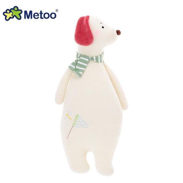 Metoo Sofa Cushions Animal Pillow Doll Plush Stuffed Bear horse dog deer Toys for Girls Children Baby Birthday Christmas gifts