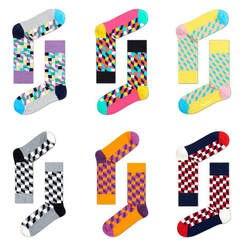 24 шт. = 12 пар Мужская Носки в клетку в британском стиле джентльмен Очаровательный цвет чистый коттоновые носки бесплатная доставка