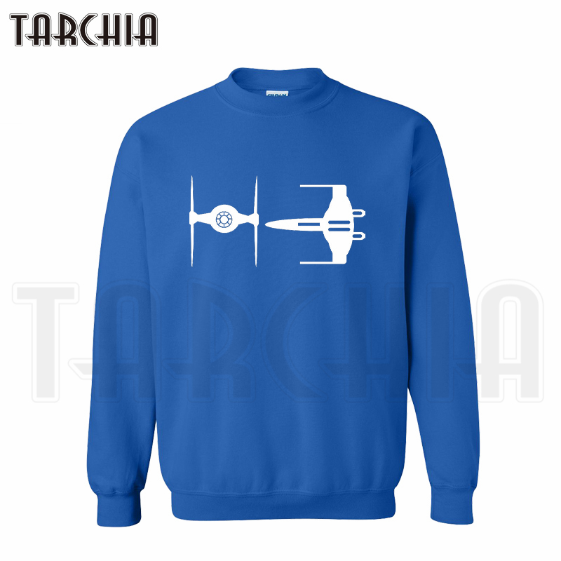TARCHIA 2019 X-Wing Starfighter Falcon skateboard hoodies sweatshirt personalized men casual parental survetement homme marque