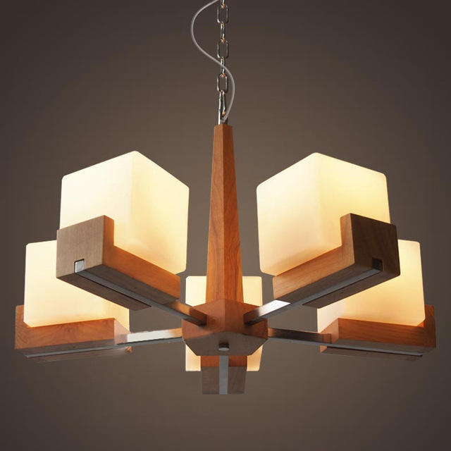 Lampara grandesalon led for Muebles modernos de madera para sala