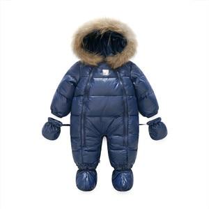 Image 2 - Baby thickening sleeping bag climbing suit