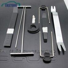 9pcs/Set Auto Car Radio Video Remover Tools Automotive Panel Trim Pry Kits Stere