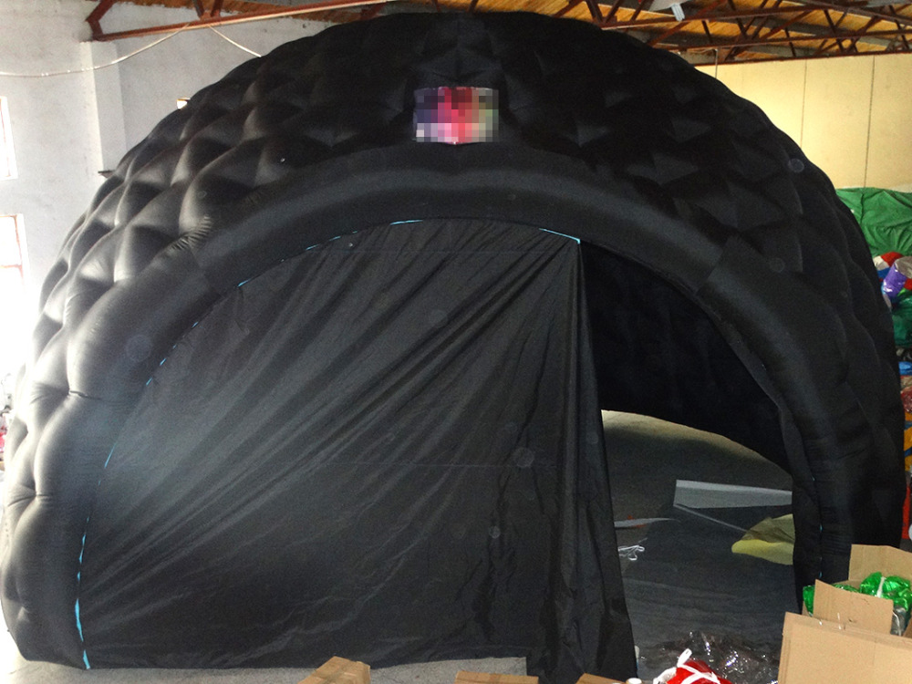 2017 Hot sale simple design inflatable white tent