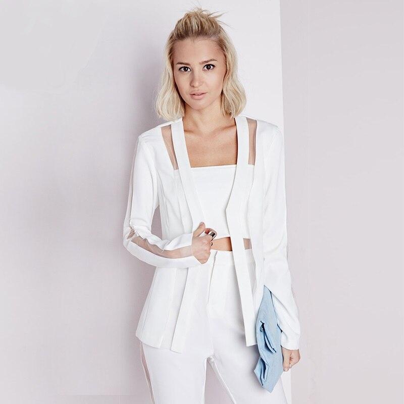 Online Get Cheap Womens White Suit Jacket -Aliexpress.com ...