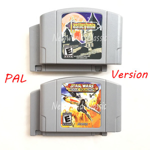 Image 1 - 스타 워즈 do ko64 castlevania conkers day pal 버전 64 비트 콘솔 용 카트리지 eu 비디오 게임 콘솔 영어 카드