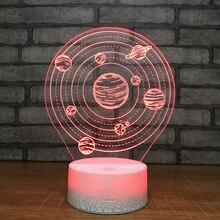 Solar System LED Lamp