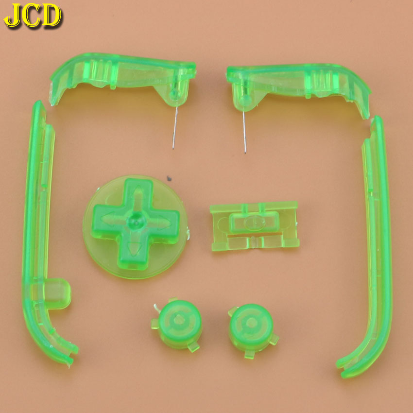 Image 5 - JCD Multi Color Buttons Keypads L R A B Buttons For Gameboy Advance Buttons Frame For GBA D Pads Power ON OFF Buttons-in Replacement Parts & Accessories from Consumer Electronics