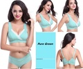 Pregnant women underwear suits Nursing bra pure cotton wire free  Breastfeeding Maternity sleep bras soutien gorge allaitement