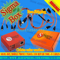 Sigmabox/Sigma Box com 9 cabos de Desbloqueio & Repair & Flash Do Telefone Móvel + Frete Grátis